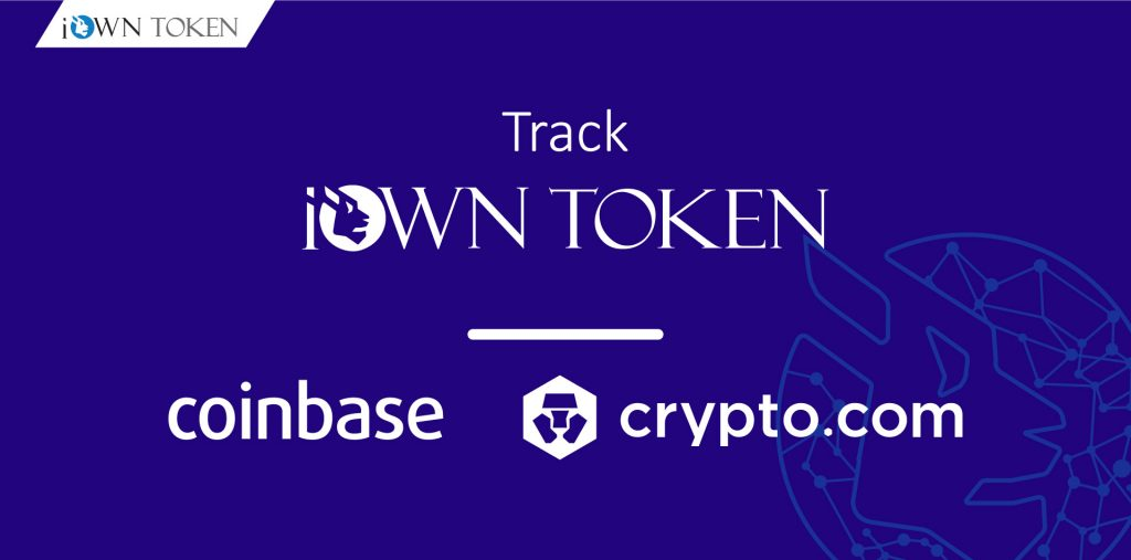 How to buy track iown token